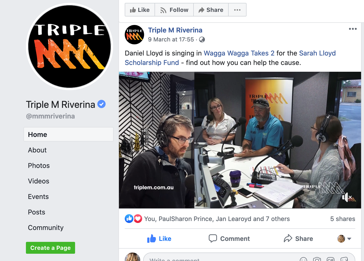 Triple M Riverina Interview